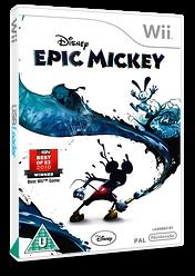 Disney Epic Mickey Wii cover (SEMX4Q)