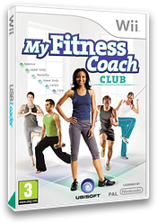 My Fitness Coach:Club Wii cover (SF5P41)
