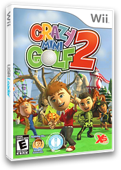Crazy Mini Golf 2 Wii cover (SG2YFS)