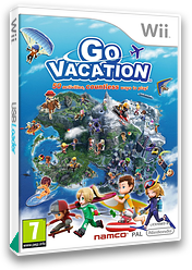Go Vacation Wii cover (SGVPAF)