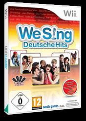 We Sing: Deutsche Hits Wii cover (SITPNG)