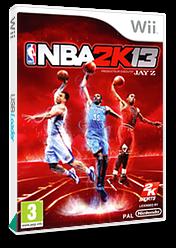 NBA 2K13 Wii cover (SKSP54)