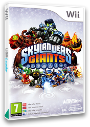 Skylanders: Giants Wii cover (SKYX52)