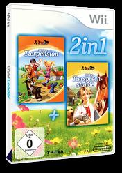 2-in-1 - Meine Tierpension + Meine Tiersprechstunde Wii cover (SL7DML)
