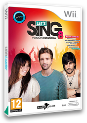 Let's Sing 8 - Spanish Version Wii cover (SLJPKM)