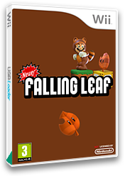 Newer Super Mario Bros. Wii: Falling Leaves CUSTOM cover (SMNP23)