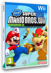 Newer Super Mario Bros. Wii U CUSTOM cover (SMNP40)