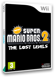 Depot Super Mario Bros. Wii 2: The Lost Levels CUSTOM cover (SMNPZD)
