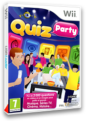 Quiz Party Wii cover (SQUFX3)
