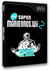 New Super Mario Bros Wii 2 Reggie CUSTOM cover (SRGP01)