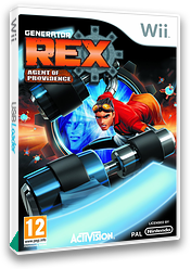 Generator Rex: Agent of Providence Wii cover (SRXP52)