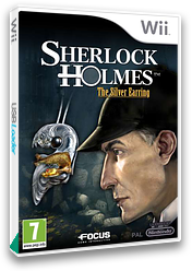 Sherlock Holmes: The Silver Earring Wii cover (SSHPHH)