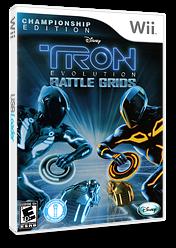 Tron: Evolution - Battle Grids Championship Edition Wii cover (STRX4Q)