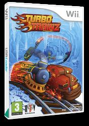 Turbo Trainz Wii cover (STUPRN)