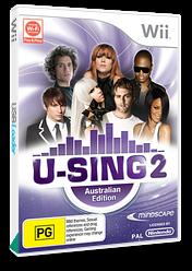 U-Sing 2: Australian Edition Wii cover (SU3UMR)