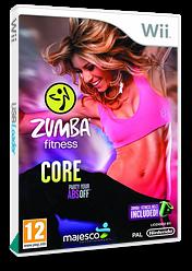 Zumba Fitness Core Wii cover (SU6P5G)