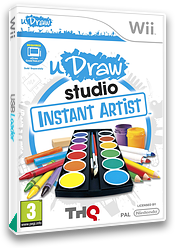 uDraw Studio: Instant Artist Wii cover (SUUP78)