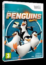 Penguins of Madagascar Wii cover (SV7PVZ)