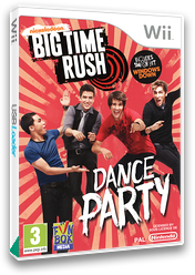 Big Time Rush: Dance Party Wii cover (SVCPXT)