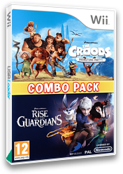 DreamWorks The Croods: Prehistoric Party! & Rise of the Guardians: Combo Pack Wii cover (SVEPAF)