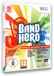 Band Hero Wii cover (SXFP52)