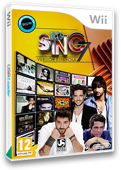 Let's Sing 7 - Spanish Version Wii cover (SY7PKM)