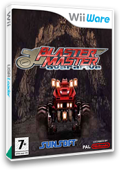 Blaster Master: Overdrive WiiWare cover (W2MP)