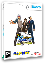 Phoenix Wright: Ace Attorney: Trials and Tribulations WiiWare cover (W3GI)