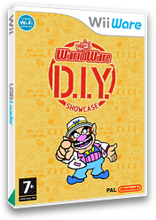 WarioWare: Do It Yourself - Showcase WiiWare cover (WA4P)