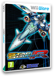 Star Soldier R WiiWare cover (WBQP)