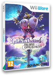 Final Fantasy Crystal Chronicles: My Life as a Darklord WiiWare cover (WF2P)