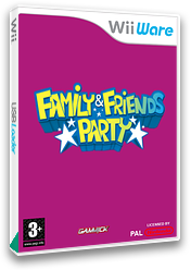 Family & Friends Party WiiWare cover (WFMP)