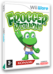 Frogger Returns WiiWare cover (WFRP)