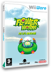 Flowerworks: Follie's Adventure WiiWare cover (WFWP)
