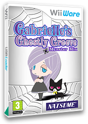 Gabrielle's Ghostly Groove: Monster Mix WiiWare cover (WGGP)