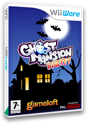 Ghost Mansion Party WiiWare cover (WHUP)