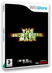 The Incredible Maze WiiWare cover (WINP)