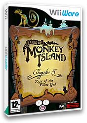 Tales of Monkey Island Chapter 5: Rise Of The Pirate God WiiWare cover (WIRP)