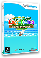 Adventure on LOST ISLAND: Hidden Object Game WiiWare cover (WKWP)