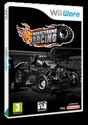 Monochrome Racing WiiWare cover (WMRP)