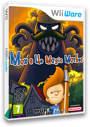 Max & the Magic Marker WiiWare cover (WMXP)