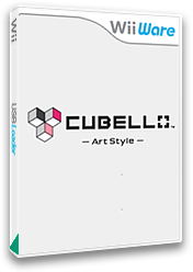 Art Style: CUBELLO WiiWare cover (WPRP)