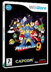 Mega Man 9 WiiWare cover (WR9P)
