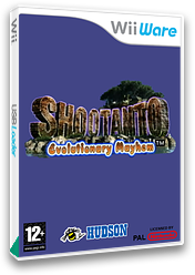 Shootanto: Evolutionary Mayhem WiiWare cover (WSUP)