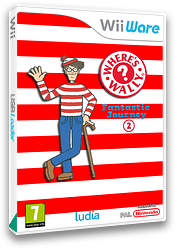 Where's Wally? Fantastic Journey 2 WiiWare cover (WW2P)