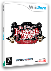The Tales of Bearsworth Manor: Puzzling Pages WiiWare cover (WZZP)