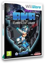 Aya and the Cubes of Light Demo WiiWare cover (XJEP)