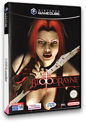 BloodRayne GameCube cover (GBDS7D)