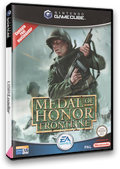Medal of Honor: Frontline GameCube cover (GMFS69)