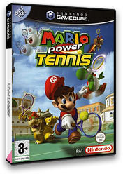 Mario Power Tennis GameCube cover (GOMP01)